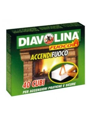 DIAVOLINA ACCENDIFUOCO 40 CUBI