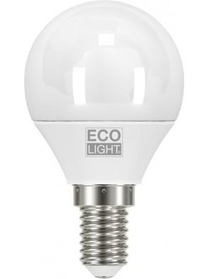 LAMPADINA LED MINIGLOBO 3W E14